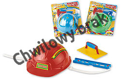 Helmet building manager's headgear set (blister package)